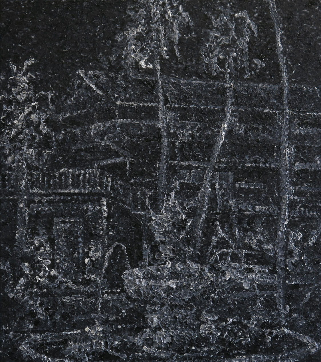 Fountain I - Oil on Canvas, 67 x 60 cm, 2013