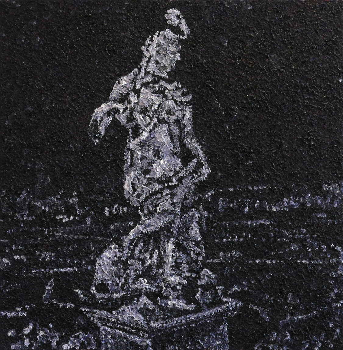 Statue I - Oil on Canvas, 60 x 60 cm, 2013
