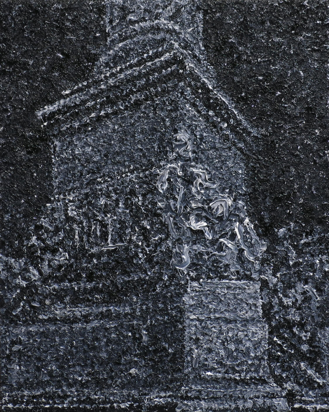 Monument II - Oil on Canvas, 48 x 38 cm, 2013