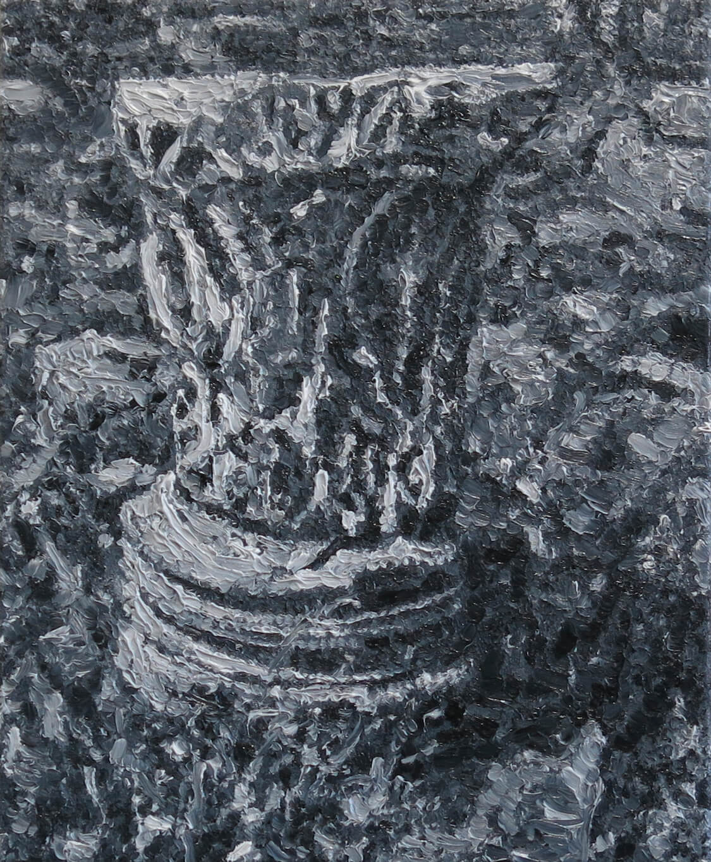 Roman Leftovers III - Oil on Canvas, 55 x 45 cm, 2013