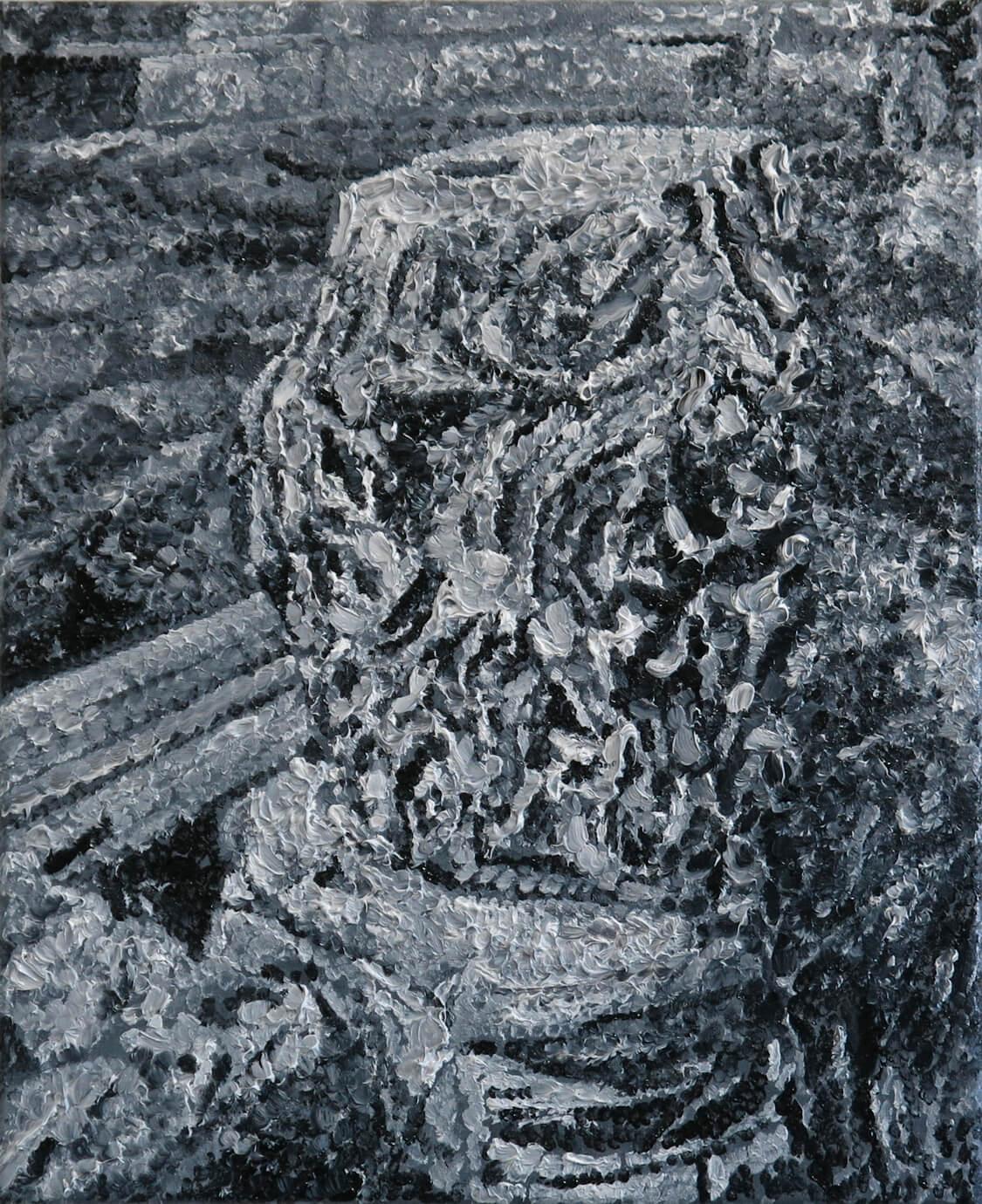 Roman Leftovers I - Oil on Canvas, 55 x 45 cm, 2013