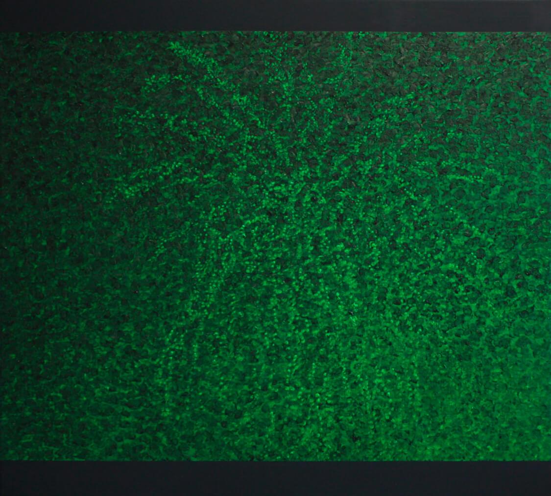 Palmtree IV - Oil on Canvas, 85 x 95 cm, 2013