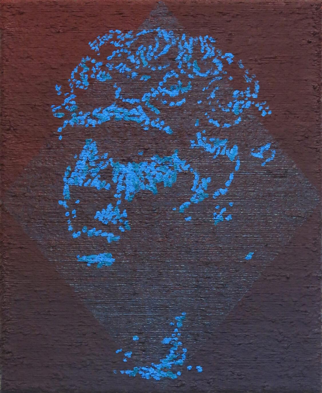 Head I - Oil on Canvas, 55 x 45 cm, 2016