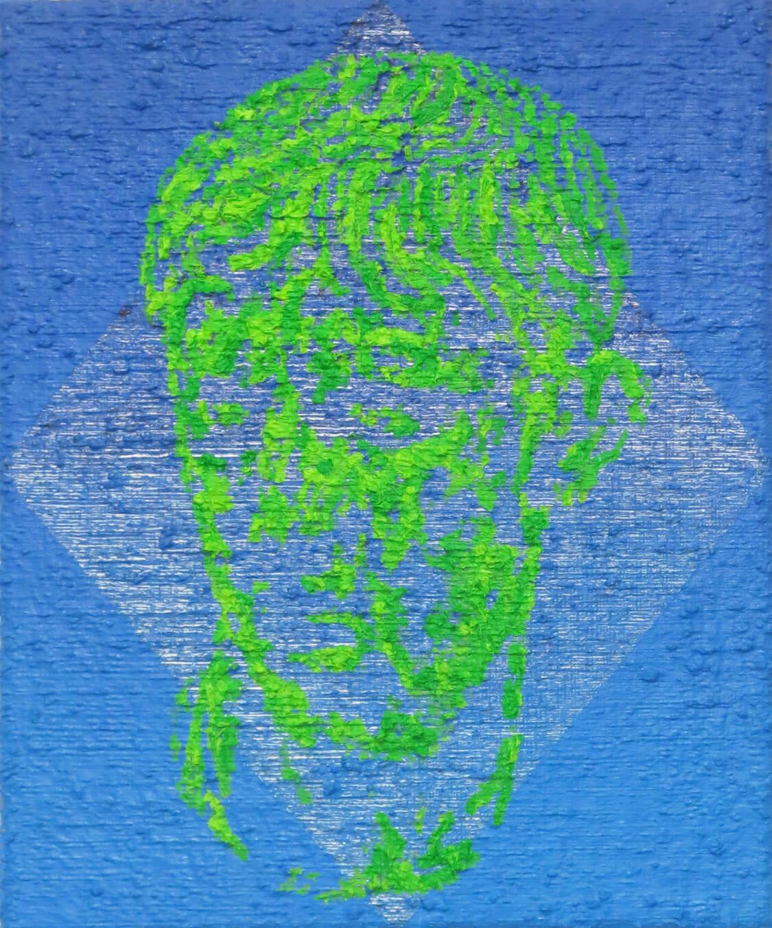 Head VI - Oil on Canvas, 55 x 45 cm, 2016