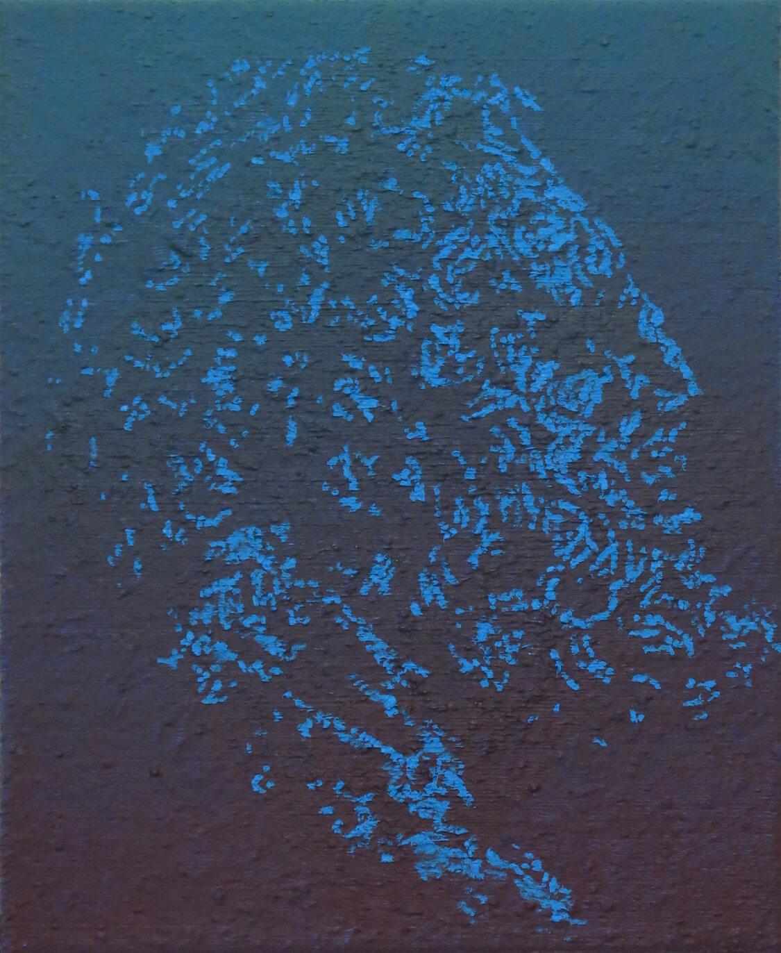 Head III - Oil on Canvas, 55 x 45 cm, 2016